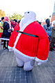 Big Hero 6 Baymax Mascot (Santa Claus) at CWT41 20151213.jpg