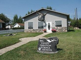 Creation science - Big Valley Creation Science Museum in Big Valley, Alberta, Canada