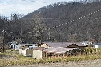 Bigson, West Virginia - Residences on WV 85