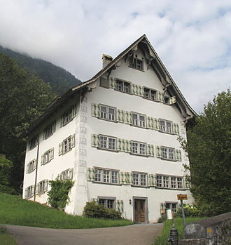 Glarus Nord - Elsener house (also known as Herrensitz Milt)