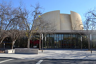 Bing Concert Hall - Image: Bing concert hall at Stanford University
