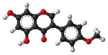 Biochanin A molecule