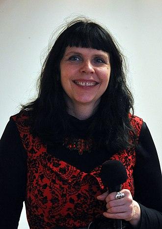 2016 Icelandic parliamentary election - Image: Birgitta Jonsdottir 2015