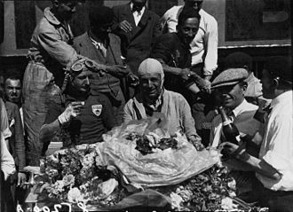 1931 24 Hours of Le Mans - Winners Lord Howe and Henry Birkin