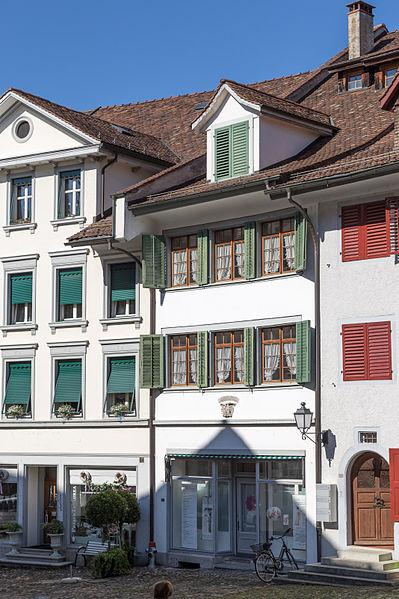 File:Bischofszell Wohnhaus zum Pelikan (Marktgasse 10).jpg