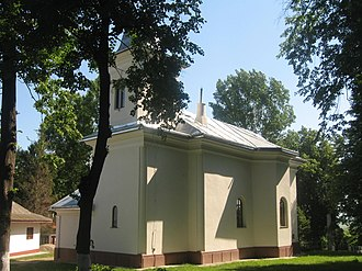 Liteni - St. Nicholas church in Liteni