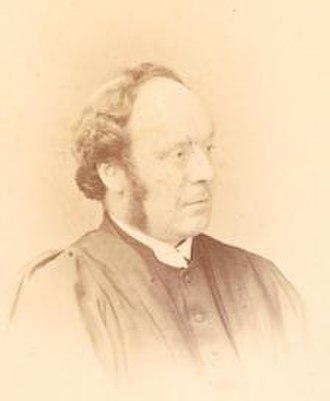 St Andrew's Cathedral School - Bishop Alfred Barry, founder of St Andrew's Cathedral School