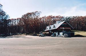 Lake Mountain (Victoria) - Image: Bistro plus burnt trees