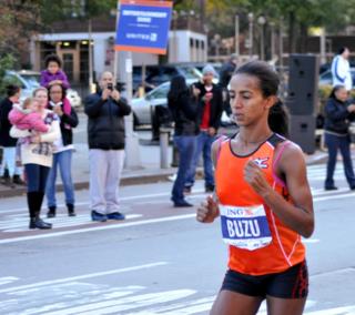 Bizunesh Deba Ethiopian marathon runner