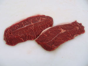 Blade steak - Raw Blade Steak