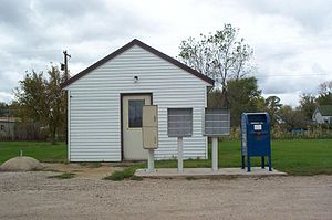 Blanchard, North Dakota - Blanchard post office
