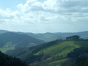 English: Black Forest in Southwestern Germany....