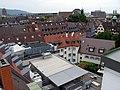 Blick von der Dachterrasse Kaiser-Joseph-Straße 192 in Freiburg Richtung Universität.jpg