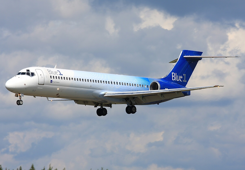 Blue1 Boeing 717-200 OH-BLJ ARN 2012-6-30