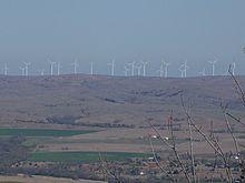 Wind Farms In Oklahoma Map.Wind Power In Oklahoma Wikipedia