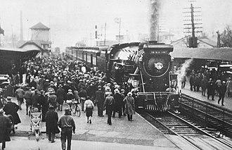 Blue Comet - Blue Comet debut, Red Bank, NJ February 17, 1929.