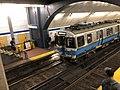 Blue Line train at Aquarium Station.agr.jpg
