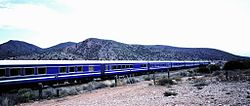 Blue Train passes through the Karoo.jpg
