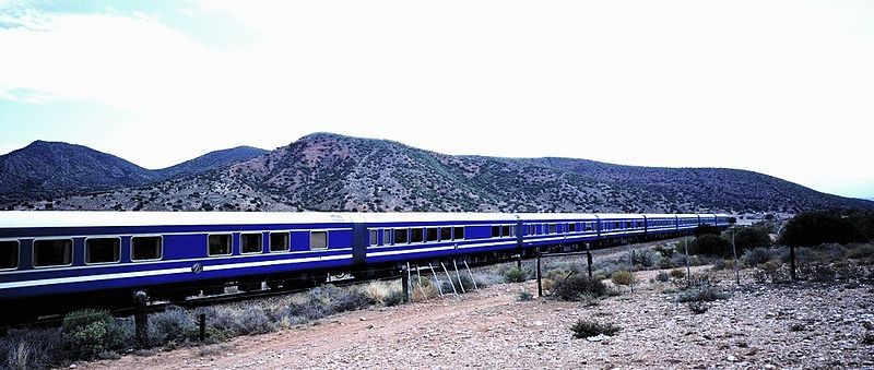 South African Sudáfrica The Blue Train trenes turísticos tourist trains