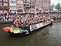 Boat 62 Cafe 't Achterom, Canal Parade Amsterdam 2017 foto 2.JPG