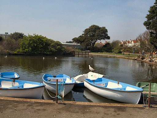 Boats in Egerton Park - geograph.org.uk - 1822100