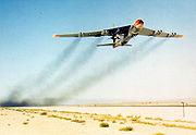 Boeing NB-52B takeoff 061127-F-1234S-007