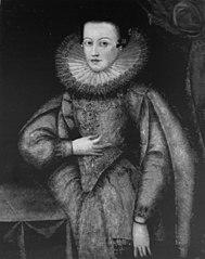 Portrait of Constance of Austria.