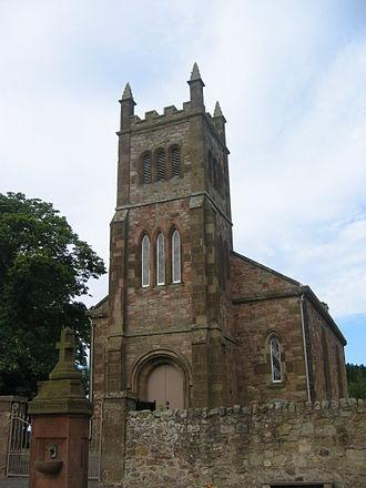 Gilbert Burns (farmer) - Bolton Church