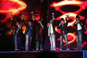 Latvia in the Eurovision Song Contest - Image: Bonaparti 2007 Eurovision