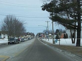 Bonduel, Wisconsin - Image: Bonduel Wisconsin 2
