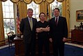 Bono with President Clinton and Vice President Al Gore.jpg