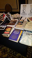 BookSwapping at Wikimania 2018 20180722 151806 (32).jpg