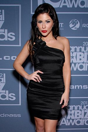 Brooklyn Lee - Lee at the 10th XBIZ Awards in January 2012