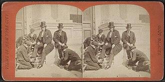Ragged Dick - Bootblacks, circa 1870