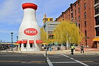 Boston, Museum Wharf, Hood Milk Bottle.jpg