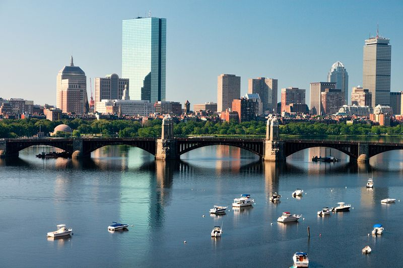 File:Boston Skyline Over the Charles River.jpg
