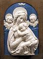 Bottega dei della robbia, madonna col bambino (replica della madonna dell'impruneta di luca), xv-xv sec.JPG