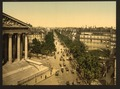 Boulevard of the Madeline (i.e., Madeleine), Paris, France-LCCN2001698544.tif
