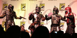 "The Star Wars-themed skit ""Bounty Hunters' Cat..."