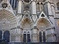 Bourges - cathédrale Saint-Étienne, façade ouest (03).jpg
