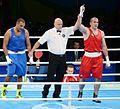 Boxing at the 2016 Summer Olympics, Majidov vs Arjaoui 18.jpg