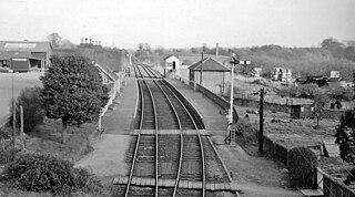 Brackley railway station