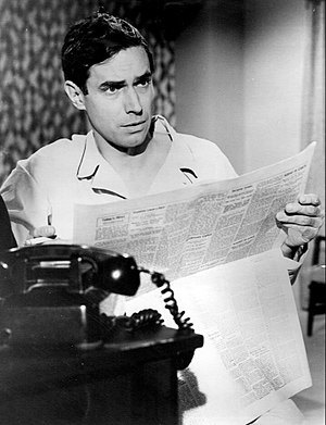 Bradford Dillman - Bradford Dillman as a guest star in The F.B.I. in 1966.