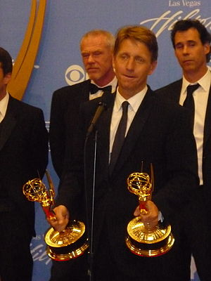 Emmy Award - TV producer and writer Bradley Bell accepting Daytime Emmy Awards for his work on the daytime soap opera The Bold and the Beautiful in 2010