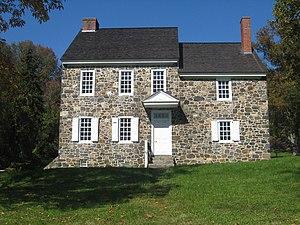 Brandywine Battlefield - Washington's headquarters at the battlefield
