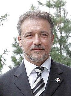Branko Crvenkovski Macedonian politician