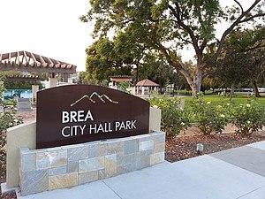 Brea City Hall and Park - Image: Brea City Hall and Park 2012 10 05 18 13 26