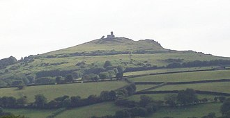 Brent Tor - Brent Tor from the northeast