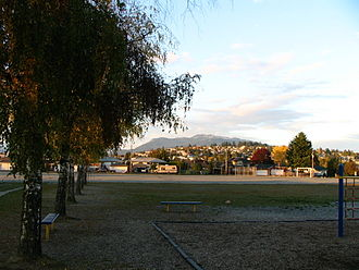 Brentwood Park - The Brentwood Park area with Capitol Hill and Mt.Seymour to the north
