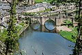 Bridge over Lot River in Estaing 04.jpg